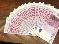 قیمت یورو و پوند  بانکی کم شد