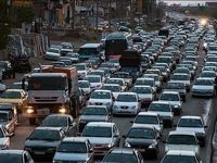 ترافیک در جادههای منتهی به تهران روان است