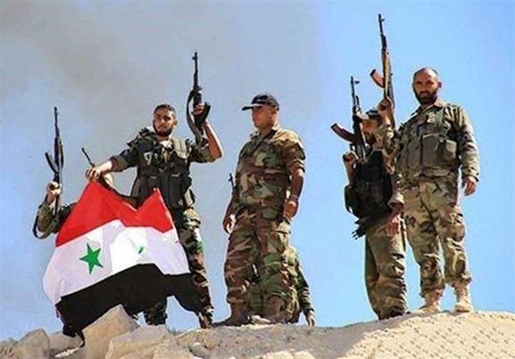 پیشروی و تسلط ارتش سوریه بر 9 منطقه در صحرای سویداء