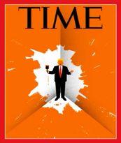 استیضاح ترامپ روی جلد مجله تایم