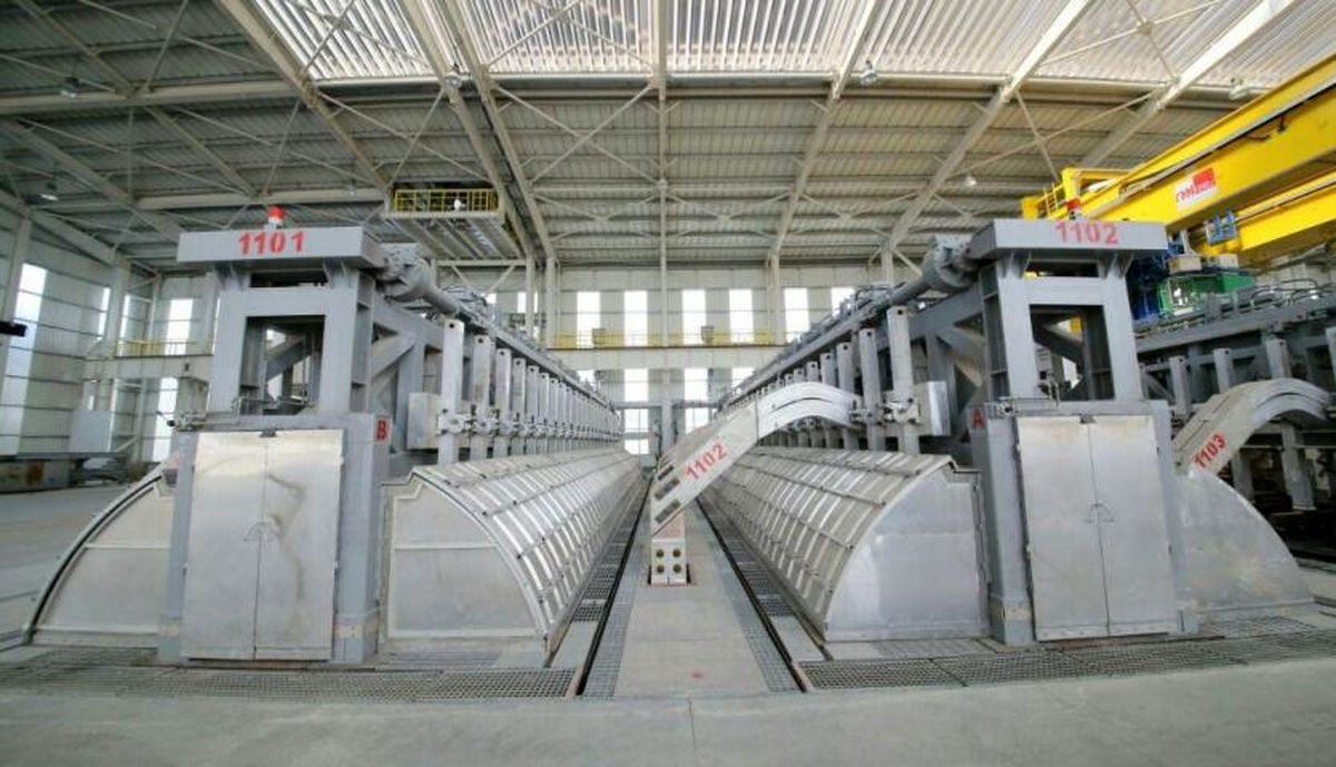 بزرگترین پروژه تولید شمش آلومینیوم ایران آماده راهاندازی شد
