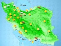 پیشبینی رگبار و رعد و برق در برخی مناطق