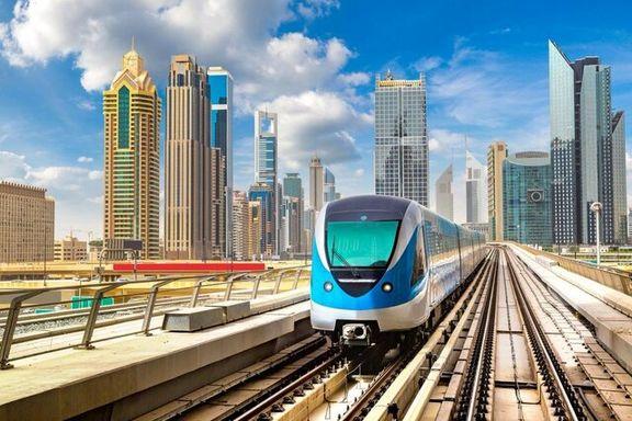 توقف فعالیت متروی دوبی به علت کرونا