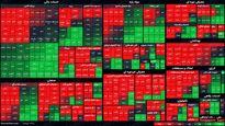 نمای بورس امروز در پایان نیمه اول معاملات / شاخص کل بیش از پنج هزار واحد رشد کرد