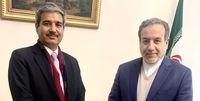 دیدار دیپلمات هندی با معاون وزیر خارجه ایران