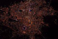 تصویر زیبای ناسا از شب تهران +عکس