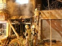 4مصدوم براثر انفجار ساختمان مسکونی در تهران
