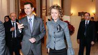 بشار اسد و خانوادهاش در رستوران +تصاویر