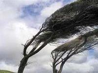 احتمال وقوع تند باد در استانهای شمالی و جنوبی کشور