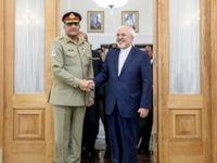رایزنی ظریف با فرمانده ارتش پاکستان
