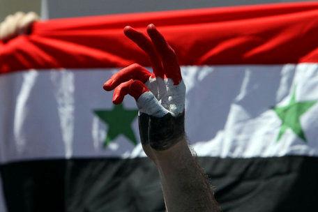 مراسم افطاری در خرابههای سوریه