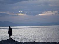 حال خوب دریاچه ارومیه با بارشهای اخیر +تصاویر
