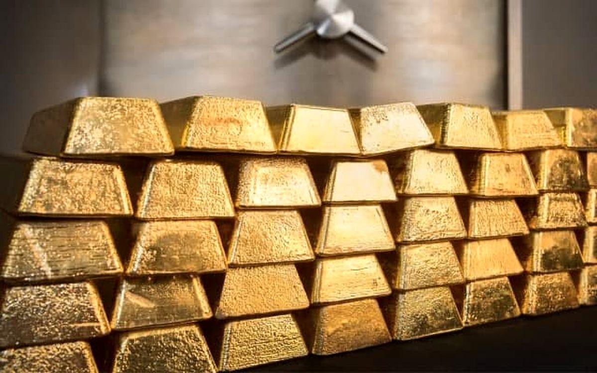 سقوط طلا از مرز ۱۰۰دلار عبور کرد