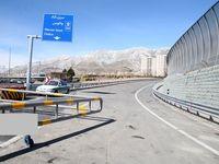 آغاز بهره برداری آزمایشی از قطعه اول آزاد راه تهران-شمال +عکس