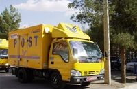 کشف تجهیزات پزشکی قاچاق در پوشش کامیون پست!
