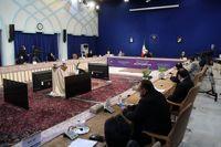 در نشست خبری رییس جمهور چه گذشت؟ +عکس