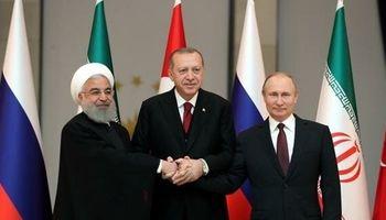 پوتین تأیید کرد با روحانی و اردوغان دیدار میکند