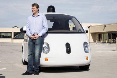 اتومبیل بدون راننده گوگل +تصاویر