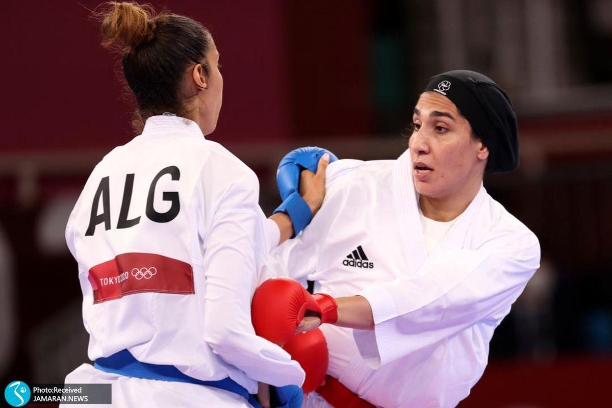 روز پایانی کاراته المپیک۲۰۲۰ / پیروزی عباسعلی در گام نخست