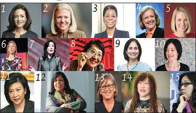 قدرتمندترین زنان دنیای تکنولوژی +عکس