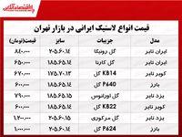 پرفروشترین انواع لاستیک ایرانی خودرو در بازار؟ +جدول
