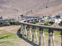 ریلگذاری راهآهن قزوین-رشت بهزودی پایان مییابد