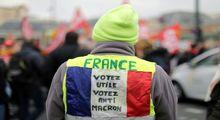 تظاهرات در فرانسه علیه قانون بازنشستگی +عکس