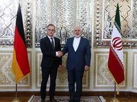 دیدار وزرای امور خارجه ایران و آلمان +عکس