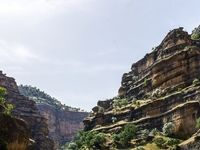 دره اسرارآمیز کوهستانهای زاگرس را ببینید +تصاویر