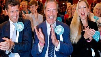 حزب برگزیت پیروز انتخابات پارلمان اروپا در انگلیس شد