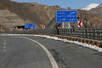 بازگشایی جاده چالوس و تهران-شمال