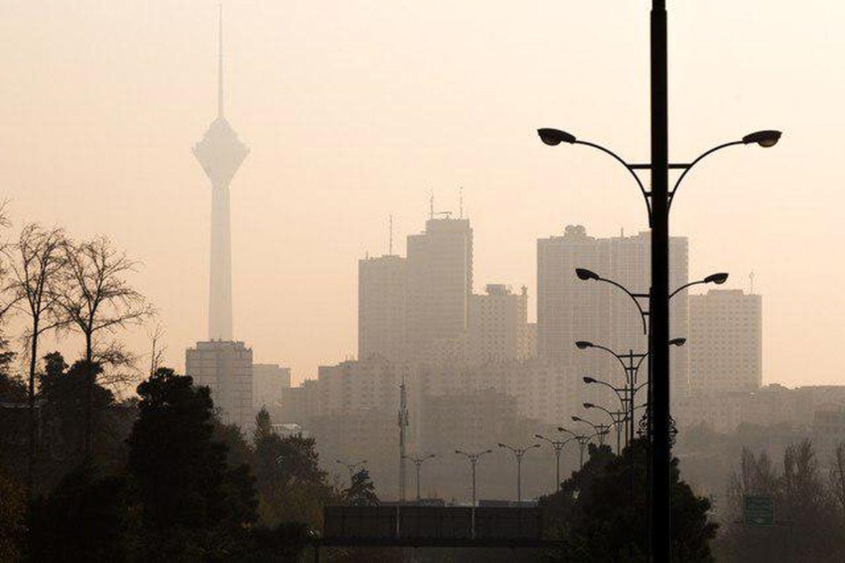 کیفیت هوای تهران در محدوده ناسالم برای گروه های حساس