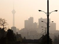 کیفیت هوای تهران همچنان برای گروههای حساس ناسالم است