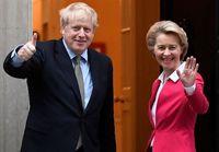 تقابل برگزیتی جانسون و اتحادیه اروپا