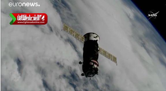 رکورد سرعت رسیدن به ایستگاه فضایی شکست +فیلم