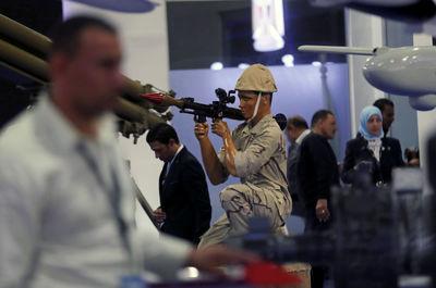 نمایشگاه بین المللی تسلیحات EDEX 2018 در مصر2