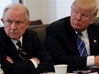 ترامپ وزیر دادگستری آمریکا را اخراج کرد +عکس
