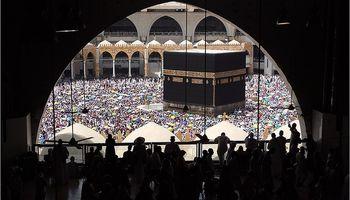 انجام مناسک حج در مسجدالحرام +تصاویر