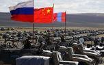 مانور مشترک نظامی روسیه و چین +تصاویر