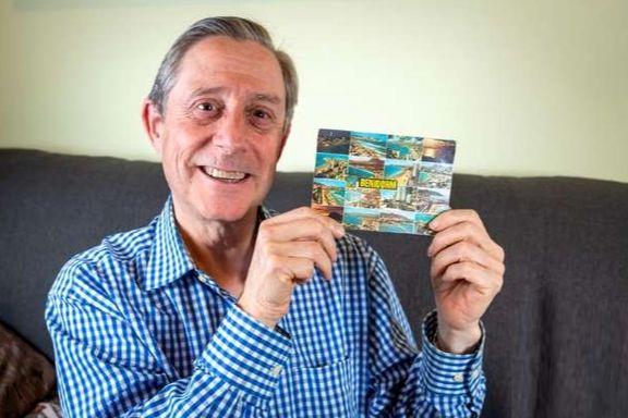 کارت پستال بعد از ۳دهه به دست صاحبش رسید +عکس