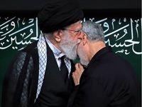 اهدای نشان ذوالفقار به فرمانده نیروی قدس سپاه پاسداران
