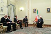 دیدار وزیر خارجه پاکستان با روحانی +تصاویر