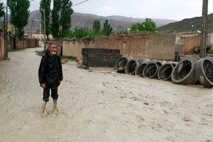 سیل باشهر ۷هزارساله ایران چه کرد! +عکس