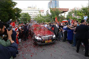 مراسم تحلیف اردوغان در ترکیه
