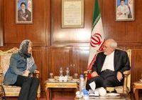 هلگا اشمید با ظریف دیدار و گفتوگو کرد