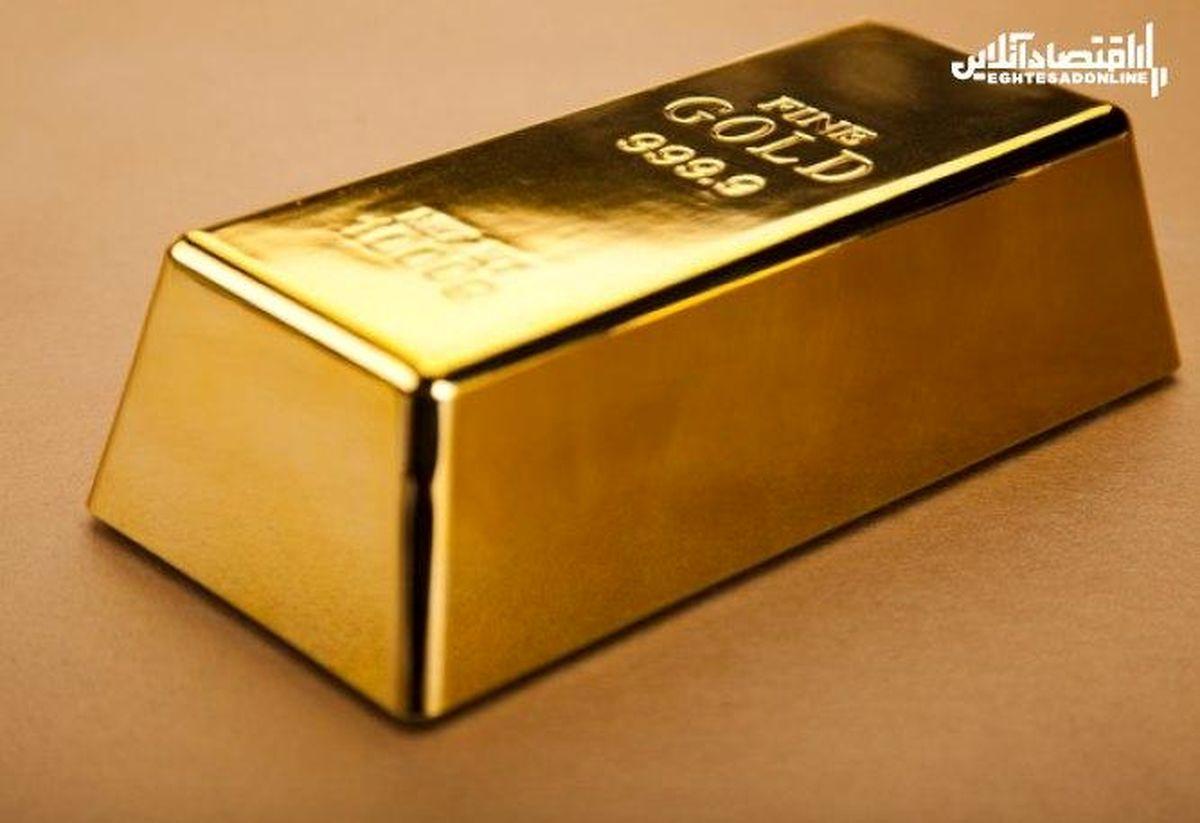 اونس جهانی طلا عقب نشست