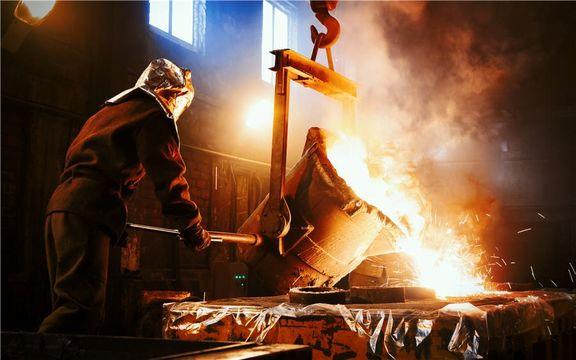 تولید بیش از ۷۰هزار تن آهن اسفنجی طی فروردین سال جاری