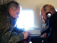 دستور ناگهانی پوتین به ارتش