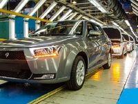 رکورد تولید در ایران خودرو