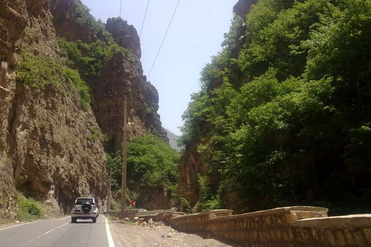 محدودیت تردد جاده هراز لغو شد